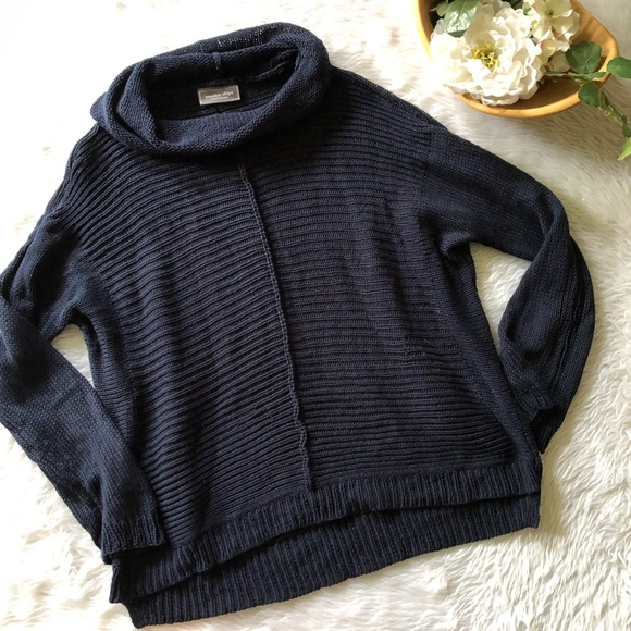 Wooden Ship Blue Navy Knit Sweater